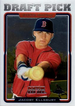 Jacoby Ellsbury Topps Chrome Rookie Card
