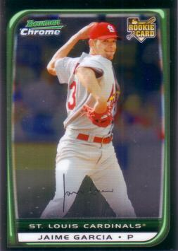 Jaime Garcia Bowman Chrome Rookie Card