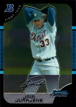 2005 Bowman Chrome Jair Jurrjens Rookie Card