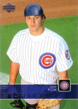 2003 Upper Deck Jake Fox Rookie Card
