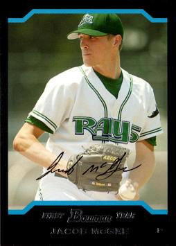 2004 Bowman Draft Picks Jake McGee Rookie Card