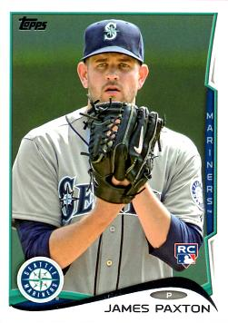 2014 Topps James Paxton Rookie Card