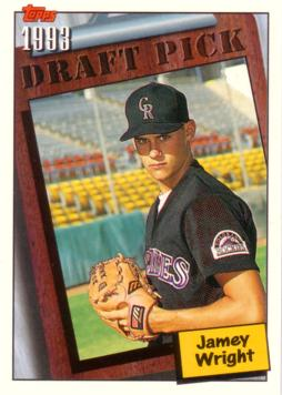 1994 Topps Jamey Wright Rookie Card