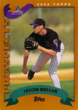 2002 Topps Traded Jason Bulger Rookie Card