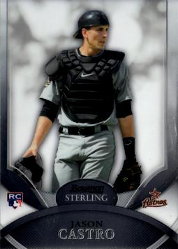 2010 Bowman Sterling Jason Castro Rookie Card