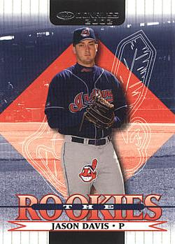 2002 Donruss the Rookies Jason Davis Rookie Card