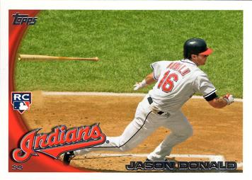 2010 Topps Update Jason Donald Rookie Card