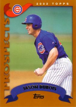 2002 Topps Traded Jason Dubois Rookie Card
