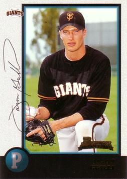 1998 Bowman Jason Grilli Rookie Card
