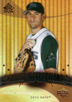 2005 Upper Deck Reflections Jason Hammel Rookie Card
