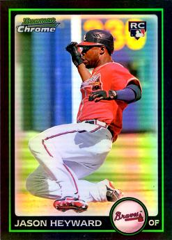 Jason Heyward Bowman Chrome Refractor Rookie Card