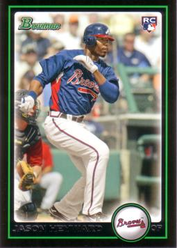 2010 Bowman Jason Heyward Rookie Card