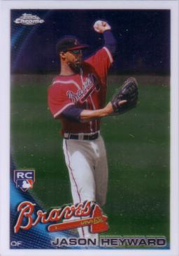 Jason Heyward Topps Chrome Rookie Card