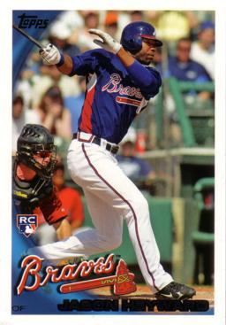 Jason Heyward Topps Rookie Card