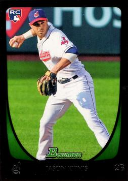 2011 Bowman Draft Picks Jason Kipnis Rookie Card