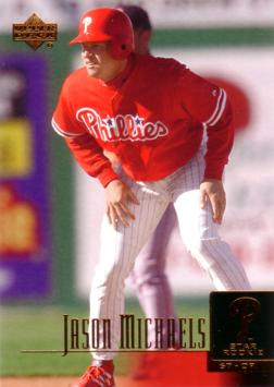 2001 Upper Deck Jason Michaels Rookie Card