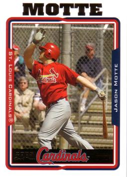 2005 Topps Update Jason Motte Rookie Card
