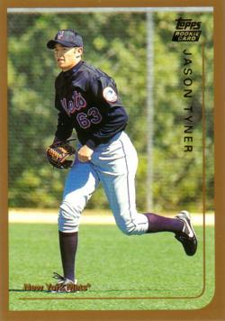 1999 Topps Traded Jason Tyner Rookie Card