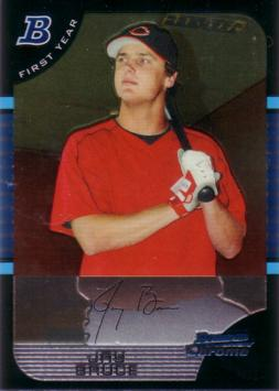 2005 Bowman Chrome Jay Bruce Rookie Card