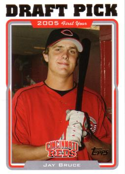2005 Topps Update Jay Bruce Rookie Card