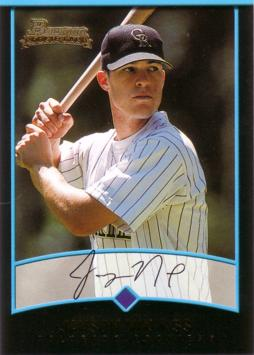 2001 Bowman Draft Picks Jayson Nix Rookie Card