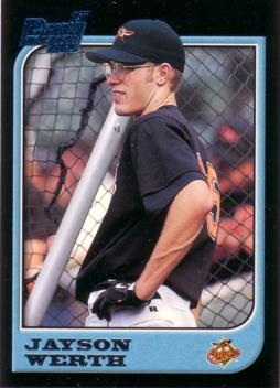 Jayson Werth Rookie Card