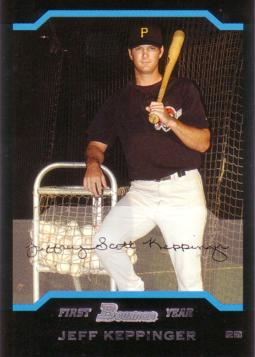 Jeff Keppinger Rookie Card