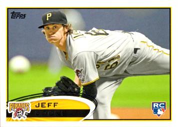 2012 Topps Baseball Jeff Locke Rookie Card