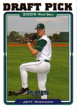 2005 Topps Jeff Niemann Rookie Card