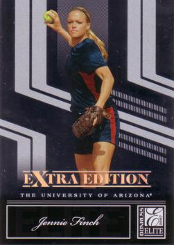 Jennie Finch Softball Rookie Card