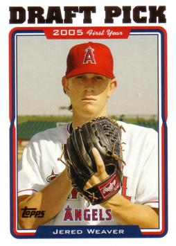 Jered Weaver Rookie Card