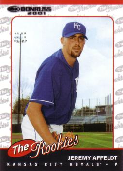 Jeremy Affeldt Rookie Card