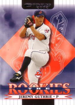 2002 Donruss the Rookies Jeremy Guthrie Rookie Card