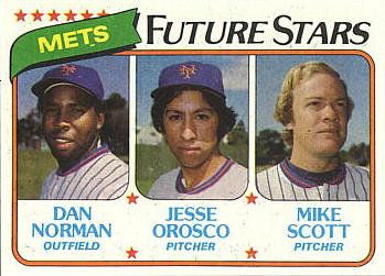 1980 Topps Jesse Orosco Rookie Card