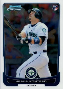 2012 Bowman Chrome Jesus Montero Rookie Card