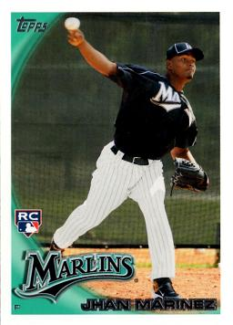 2010 Topps Update Jhan Marinez Rookie Card