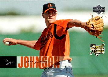 2006 Upper Deck Jim Johnson Rookie Card