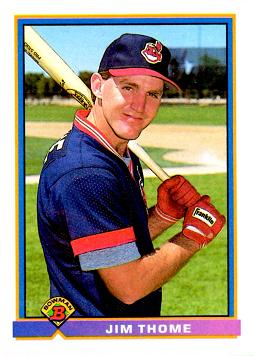 1991 Bowman Baseball Jim Thome Rookie Card
