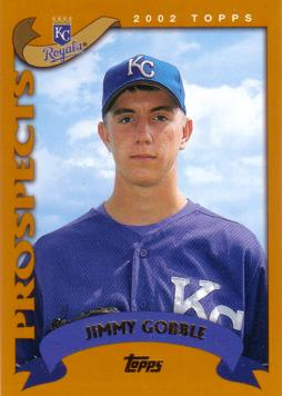 2002 Topps Jimmy Gobble Rookie Card