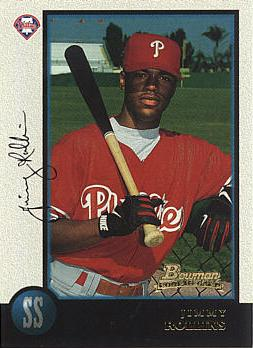1998 Bowman Jimmy Rollins Rookie Card