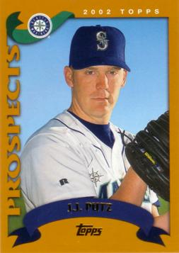 2002 Topps Traded J.J. Putz Rookie Card