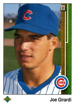 1989 Upper Deck Baseball Joe Girardi Rookie Card