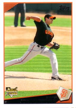 2009 Topps Joe Martinez Rookie Card