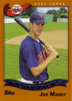 2002 Topps Joe Mauer Rookie Card