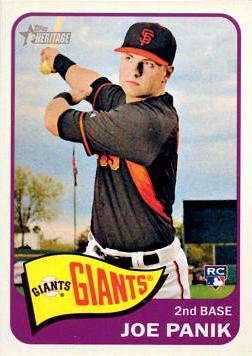 Joe Panik Rookie Card