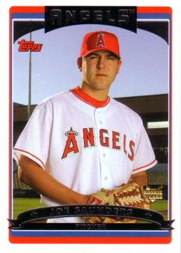 Joe Saunders Rookie Card