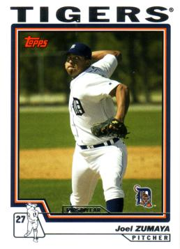 2004 Topps Traded Joel Zumaya Rookie Card
