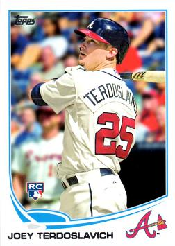 2013 Topps Update Baseball Joey Terdoslavich Rookie Card