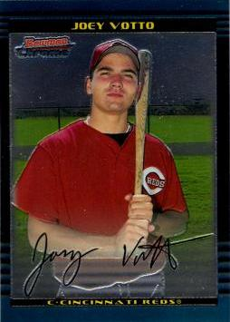 Joey Votto Bowman Chrome Rookie Card