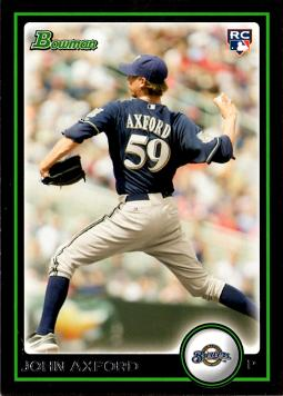 2010 Bowman Draft Picks John Axford Rookie Card